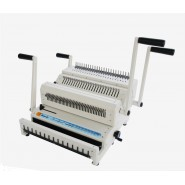 Office Force Cw-2500 Plastik ve 3:1 Tel Spiral Cilt Makinesi