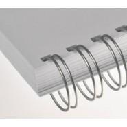 1/2'' Gümüş 3:1'' (inç) A4 34 Loop Kutu Tel Spiral 100'lü
