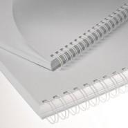 1'' Beyaz 2:1'' (inç) A4 23 Loop Kutu Tel Spiral 50'li